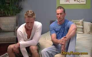 sexy blonde muscle dudes fucking