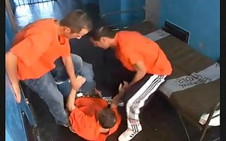prison homosexual sex compilation with group sex