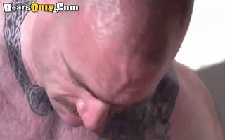 tattooed rock hard daddy dog style fuck