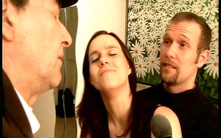 boy lets his partner experiment with gals -