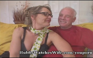 old chap suggests wife to youthful guy
