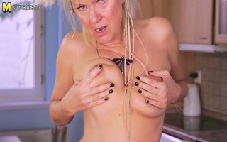 perverted older mama fucks her the one and the