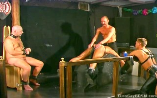 poor female slaves are caned and waxed one at a