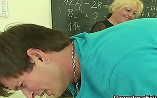 fellows fuck granny teacher