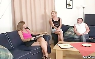 she is rides her son in law knob