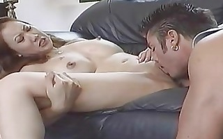concupiscent oriental girl acquires double f...