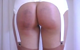 large girls getting spanked hard on their bulky