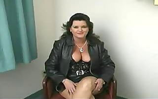 chubby aged woman oral