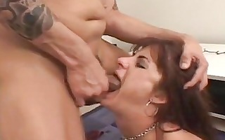 redhead momma with tiny boobs doing unfathomable