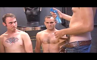 group of dudes engulf and fuck - pumphouse media