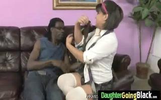 see my daughter getting a dark monster dick 6