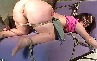 beauty receives bondaged and painfully punished