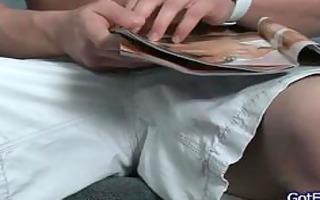 str boy jerking off to magazine part5