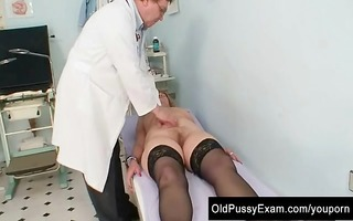 redhead granny indecent cunt stretching