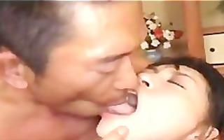 gorgeous japanese cutie having 2way sex
