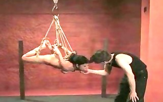 oriental sexy sweetheart tricked into being tied