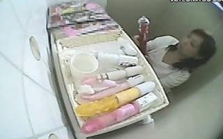 disgraceful japanese gals masturbation